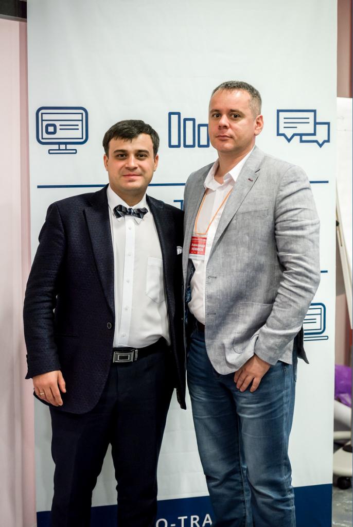 Александр Дырза с Александром Новиковым.