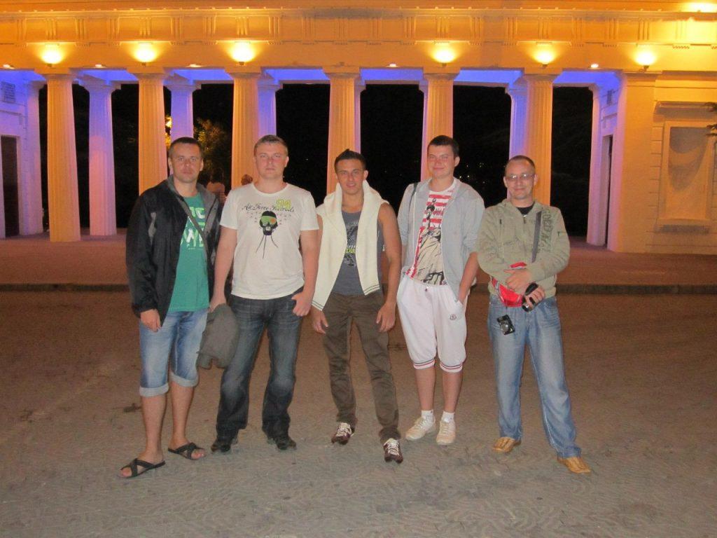 Александр Новиков, Дмитрий Париев, Алексей Захаренко, Руслан Кашаев, Владимир Зубов.